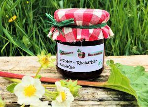 Erdbeer- Rhabarberkonfirüre